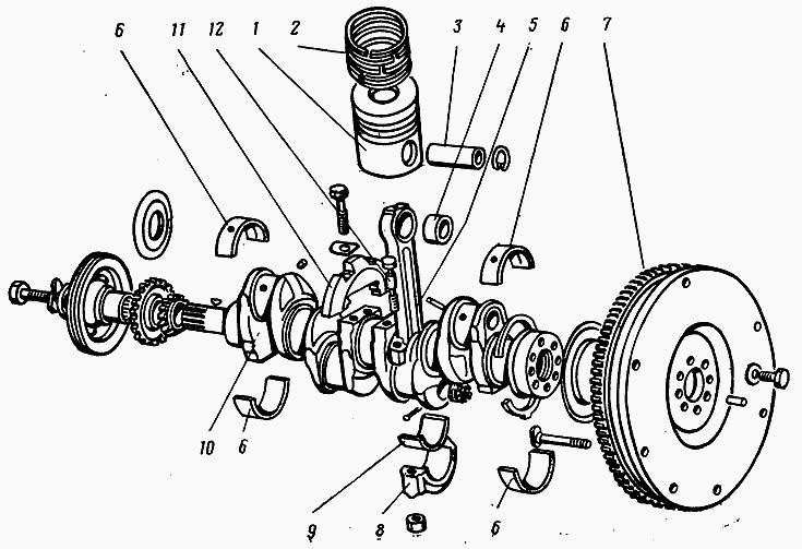 Шатун МТЗ, ЮМЗ, Т-40, на двигатель Д-65 цена, фото, где.