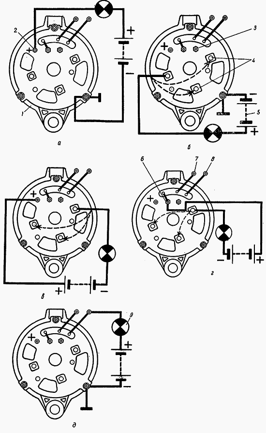 Схема электрооборудования трактора МТЗ-80/82 » Схемы.