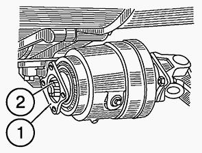 Редуктор конечной передачи переднего ведущего моста МТЗ-1221